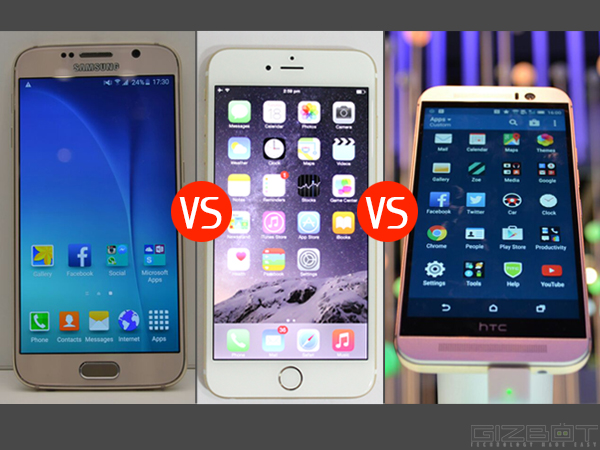 Samsung Galaxy S6 vs Top Rivals: Smartphone Heavyweight Showdown