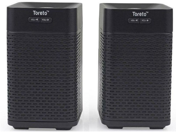 Toreto Introduces One-of-Its Kind Bluetooth Speakers: Twins