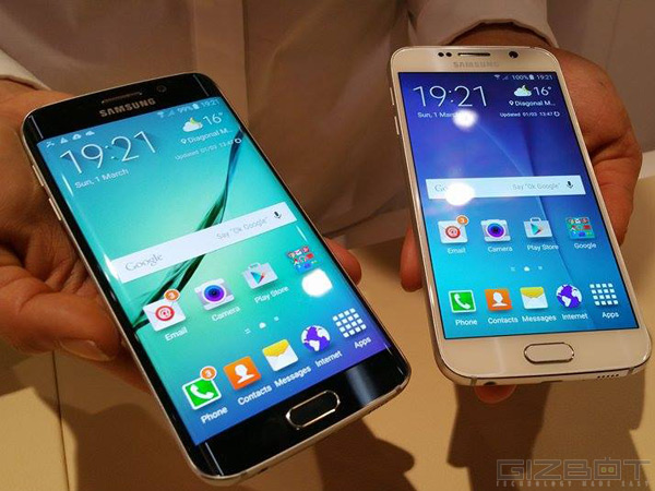 Samsung unveils Galaxy S6 and S6 Edge in India