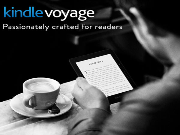 Amazon Launches Kindle Voyage E-Book Reader at Rs 16,499 in India