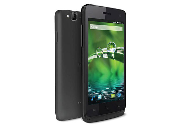 Lava Iris 414 with Android KitKat Listed on the Website at Rs 4,049