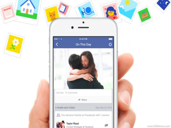 Facebook Officially Launches 'On This Day' feature
