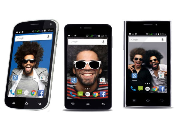 Three New Entry Level Smartphones Exclusively Available on Snapdeal