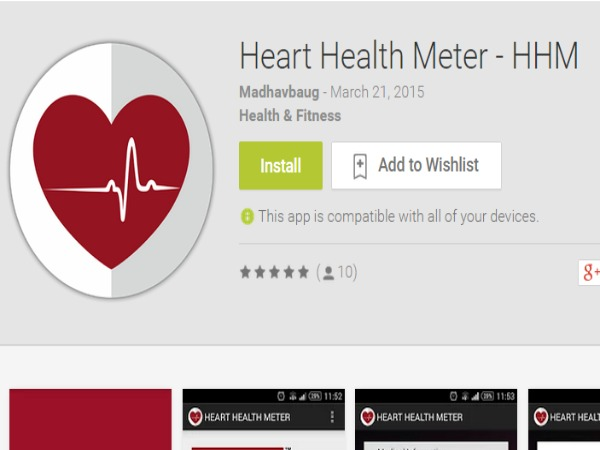 Doctors Develop 'App' that tells Heart's Health status