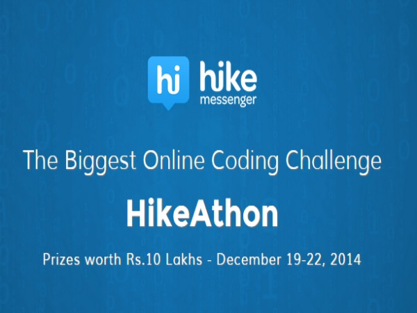 Mobile Chat Application Creator to Host 'Hikeathon'