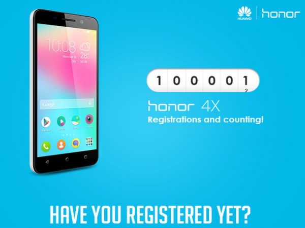Huawei Honor 4X to go on Flash Sale on Flipkart at 2PM Today