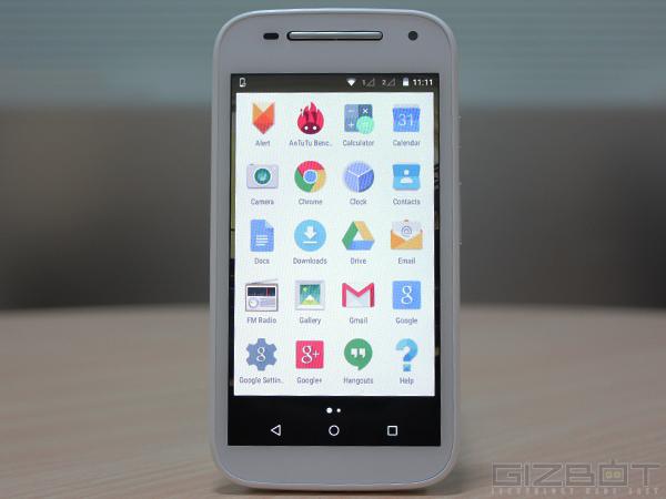 Moto E (2nd gen) Review: Budget Friendly Android Lollipop Smartphone
