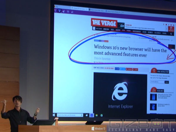 Microsoft's Spartan Web Browser Released In Preview Version Of Windows