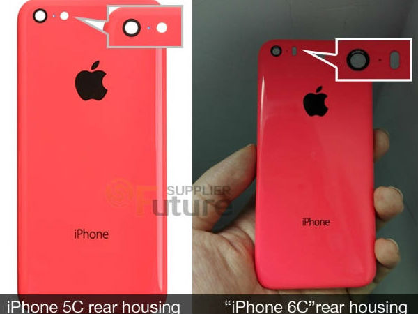 Apple iPhone 6C Revealed in Leaked Photos