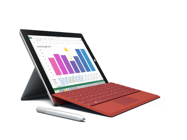 Microsoft Launches Surface 3 With Full Windows: A Bid Threat to iPad