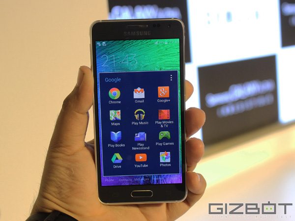Samsung Galaxy Alpha to Get Android 5.0 Lollipop Update Around Q2