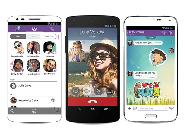 Viber App Gets Update to Support Android Wear