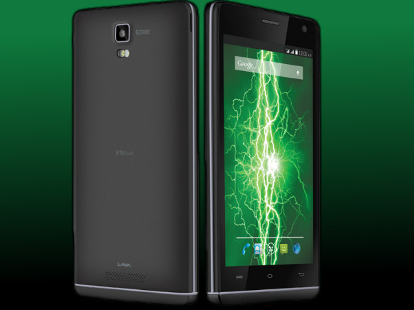 Lava Iris Fuel 50: Buy At Price of Rs 6,649