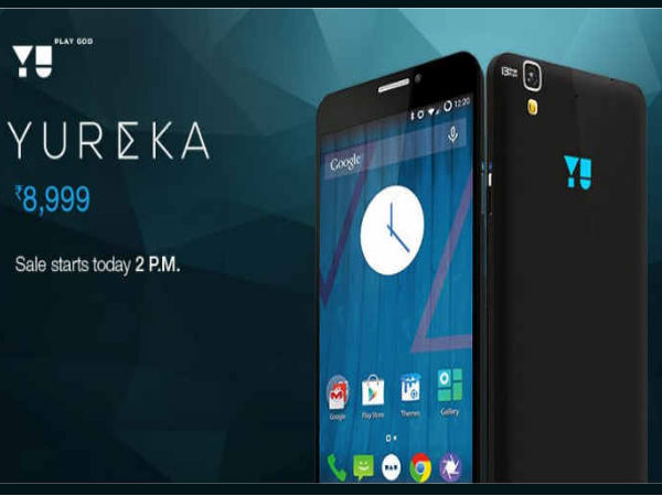 Yu Yureka is All Set For Flash Sale Today on Amazon India at 2.00PM