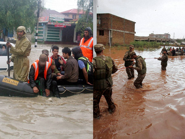 Kashmir Floods Monitored by latest Satellite Technology