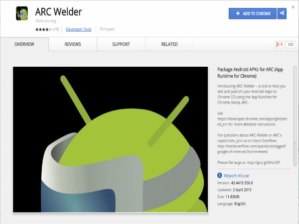 Now Run Android Apps in Windows Using ARC Welder Chrome app