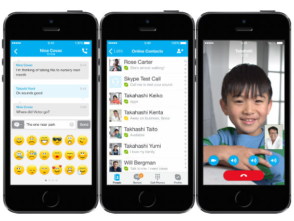 Microsoft Realeas Updates For Skype and Skype Qik Apps