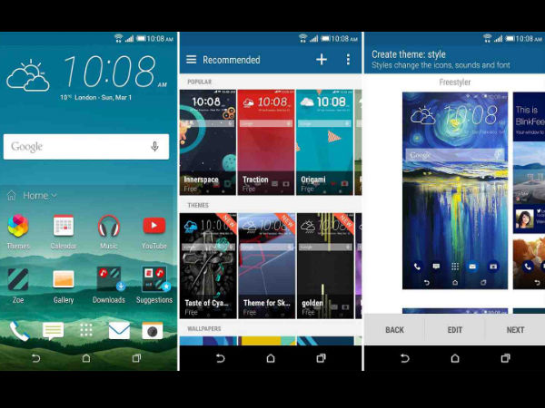 HTC Replaces BlinkFeed With Sense Home