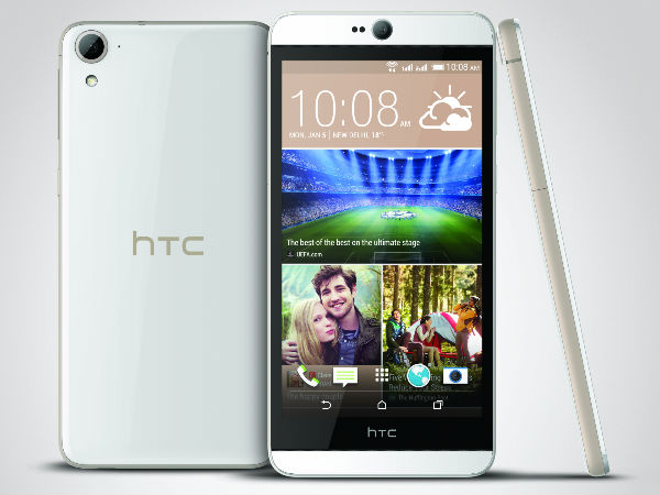 HTC Desire 826 Launched in India at a Price of Rs 26,200