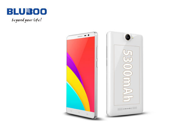 Bluboo X550 with Huge 5300mAh Battery is All Set for the Launch