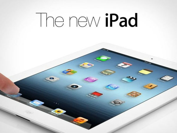 The new iPad(March 2012)