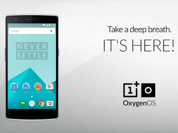 OnePlus Rolls-out Lollipop 5.0 Based OxygenOS