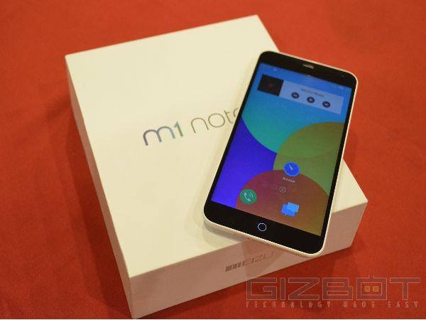 Meizu Showcases M1 Note in India: Xiaomi Redmi Note Competitor
