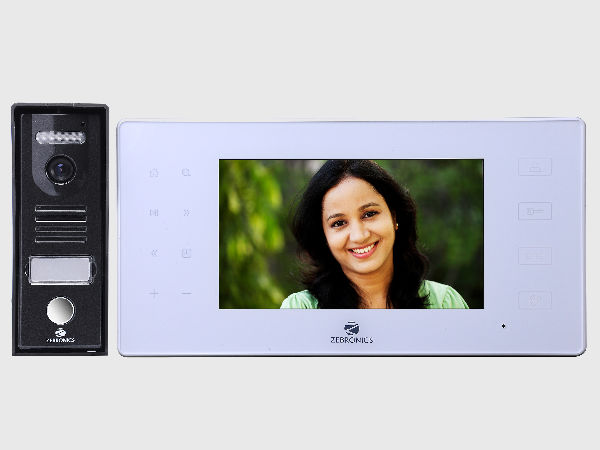 Zebronics Launches ZEB-VD7RT Video Door Phone at Rs 14,000