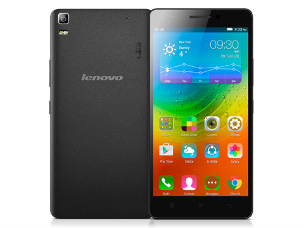 Lenovo A7000 Launched in India with Dolby Atmos Technology