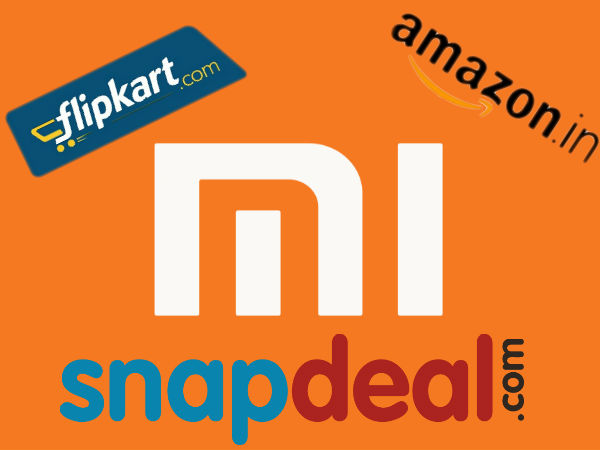 Xiaomi no More Exclusive to Flipkart