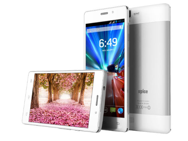 Spice Stellar 526n Octa with 5-inch Display, Octa-Core CPU Launched
