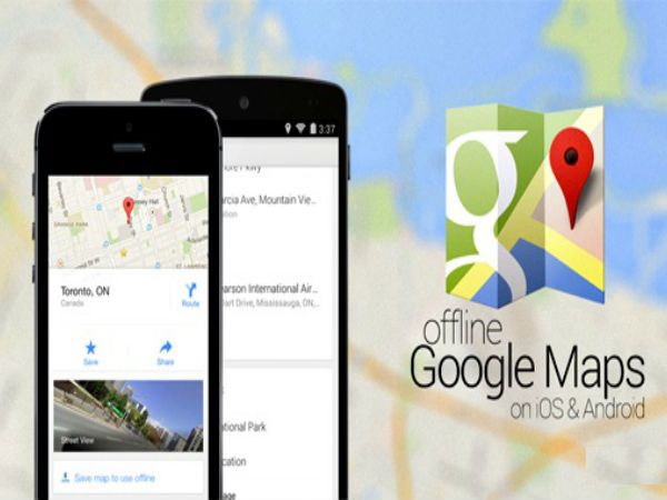 How To Use Google Maps In Android, iOS Without Internet