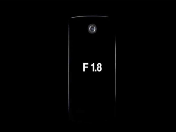 LG G4 Camera To Sport A Big Aperture, Hints at F/1.8