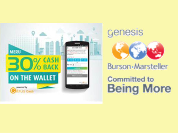 Meru launches 30% cash back on using My Wallet