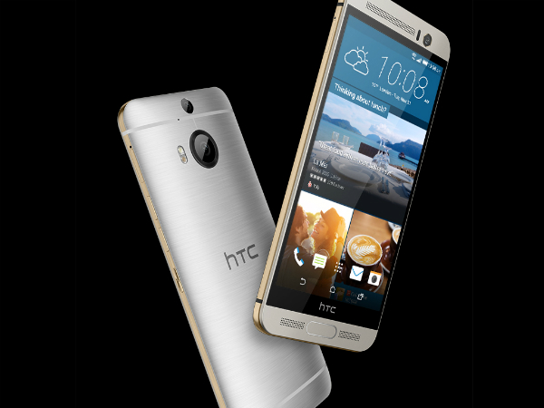 HTC One M9+ Launched with 5.2-inch Quad HD screen, Fingerprint Sensor