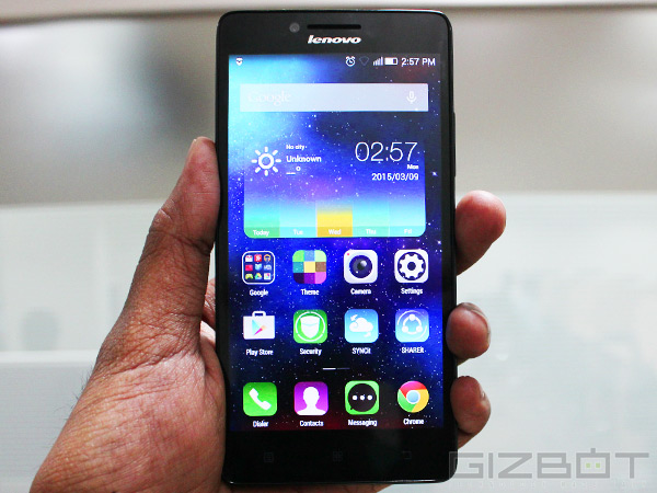 Lenovo A6000 Is Out Of Stock Not Discontinued