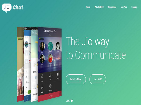 Reliance Jio Chat: Voice Messaging And Video Calling App Launched