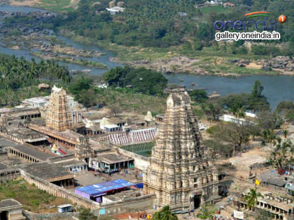 3D laser scanning of world heritage site Hampi underway
