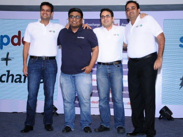 Snapdeal Acquires FreeCharge To Become The Largest Mobile Commerce