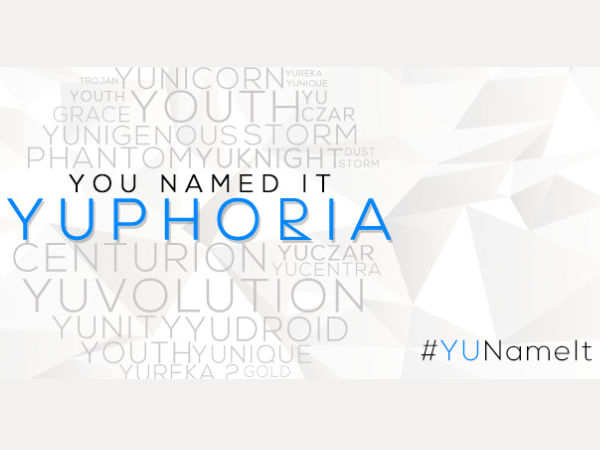 Micomax Yu Next Phone 'Project Caesar' Will Be Called Yuphoria