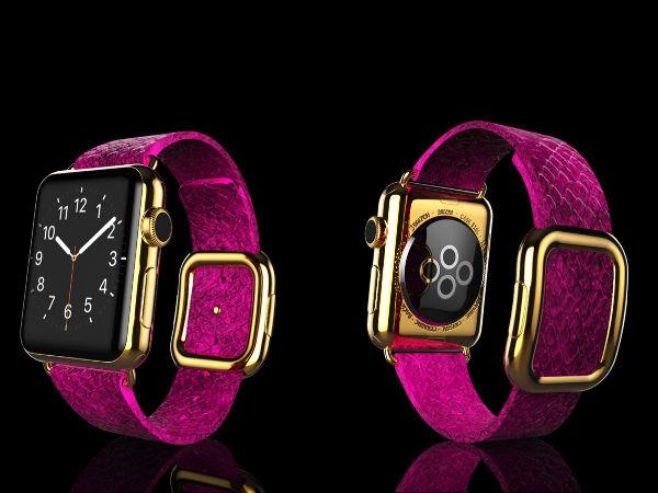 Goldgenie unveils 24k Gold, Diamond-studded Apple Watch Collection