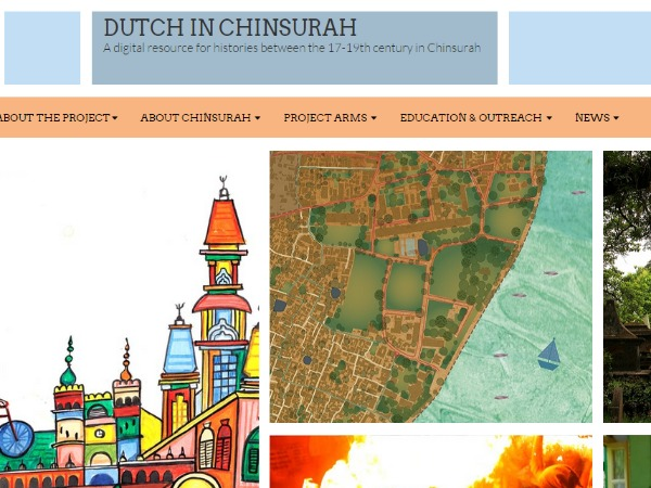 Website showcasing Bengal's Dutch Heritage launched