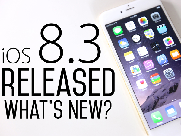Apple Releases iOS 8.3 With Emoji Keyboard And Other Tweaks