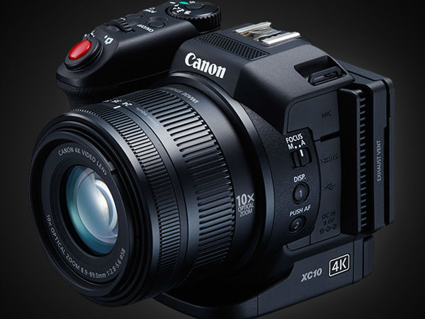 Canon To Launch Affordable 4K Camcorder XC10 In June