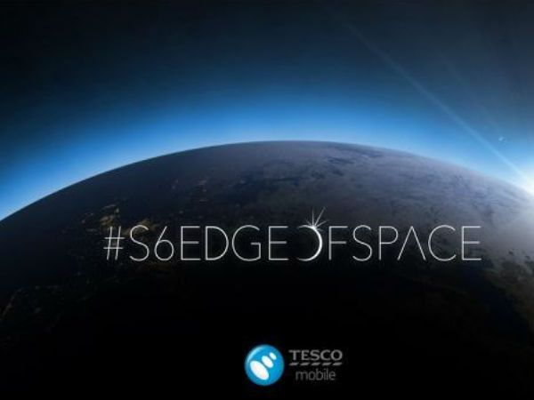 Tesco Sends The Galaxy S6 For A Space Tour