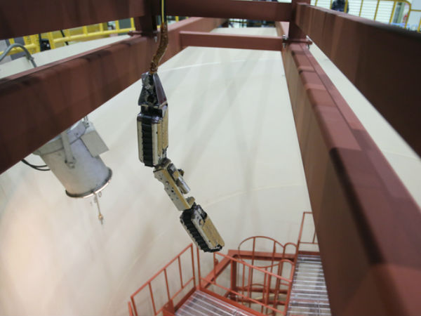 Robot inspects inside of Fukushima Reactor in Japan