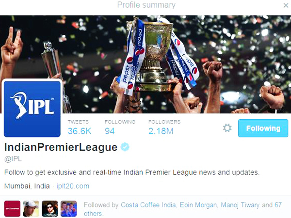 Official 'IPL' Page