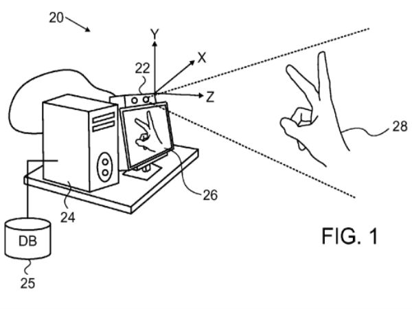 Apple's New Patient Suggest 3D Gesture Control Coming to iDevices