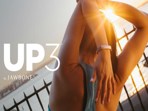 Jawbone UP3 Will Start Shipping on 20th April