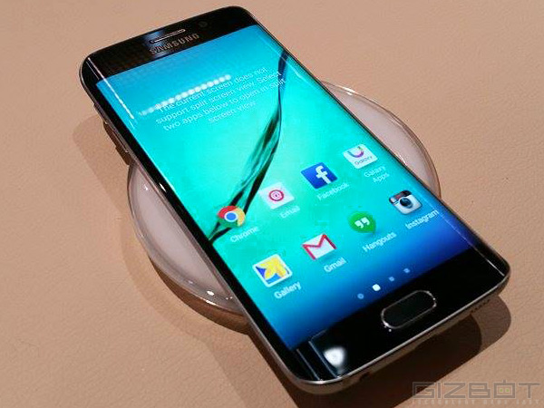 Samsung Galaxy S6 Edge With 64GB Internal Memory